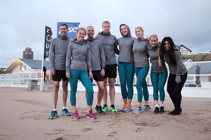 Asics Damloop team