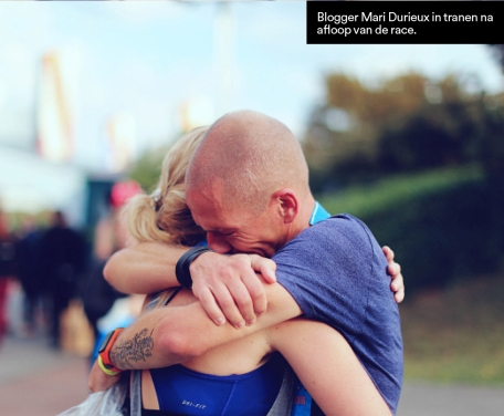 Op een pagina in Runner's Wolrld Magazine naar aanleiding van mijn Blog over de Halve Marathon in Disneyland Paris