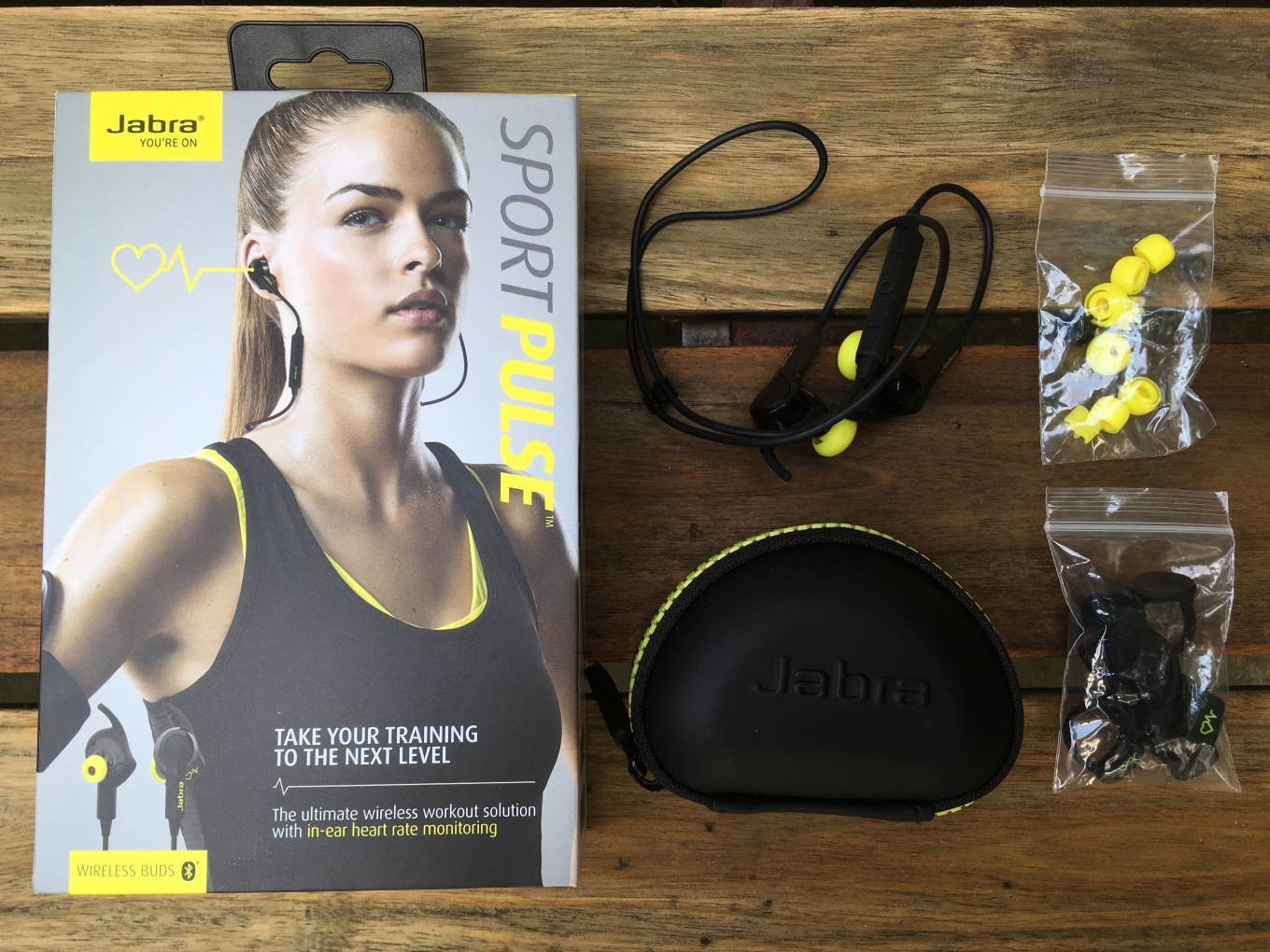 overview jabra sport pulse