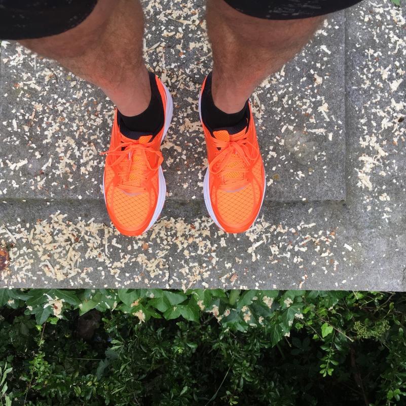 Oranje Saucony Ride 9