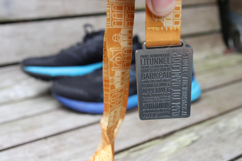 Damloop medaille