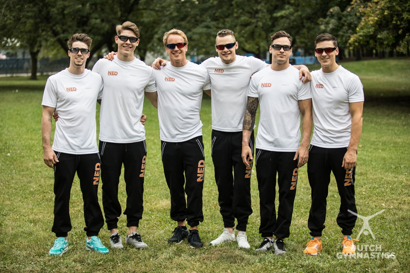 Dutch Olympic Gymnastics team with PROPEAQ