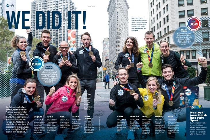Vifit Sport Campgane - New York Marathon
