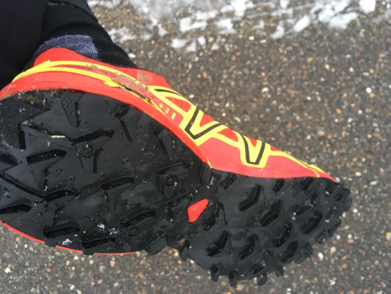 trail schonen met grip in de sneeuw