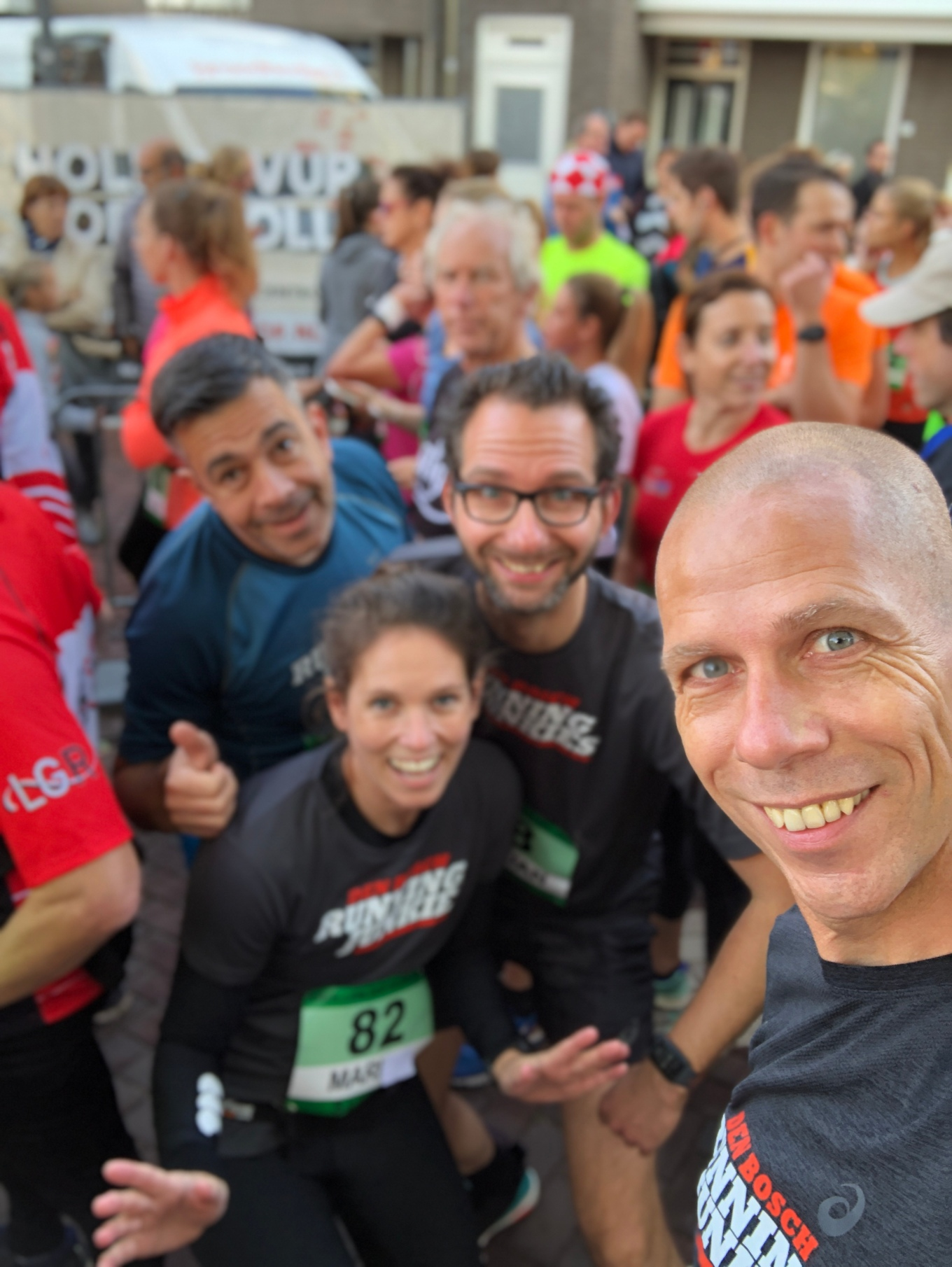 startvak mari krollenloop running junkies